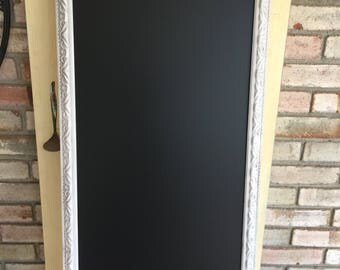 Vintage Shabby Chic Framed Wedding Chalkboard (2 available)