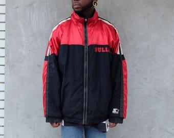 90s Starter Chicago Bulls Jacket