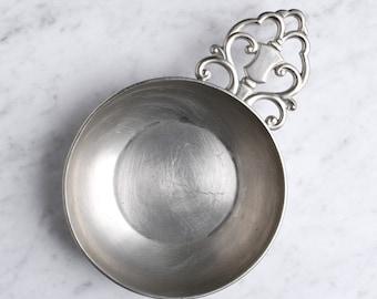 Royal Holland Pewter KDM Tiel Porringer, Vintage Dish