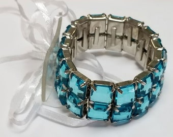 Corsage Bracelet - Treasure Collection - Turquoise