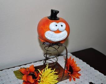 Pumpkin Jack Rusty Spring Halloween Decor