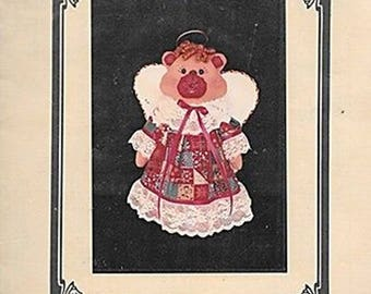 Angel Bear Pattern for  Treetop or Tabletop Decoration by Present Dreams.