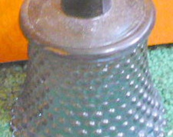 New Listing - Home Interior Votive Cup - Smoky Blue Hobnail - Price Is For 1