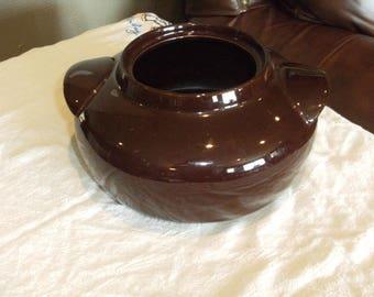 Vintage Hall Bean Pot