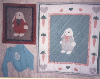 Jacob in the Carrot Patch Quilt Pattern - Uncut - Q067