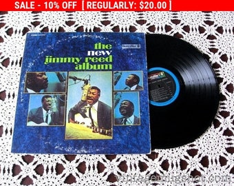August Vinyl Blow Out 10% Off Already Low Prices JIMMY REED  Vinyl lp Record Bluesway The new Jimmy Reed Album NM-