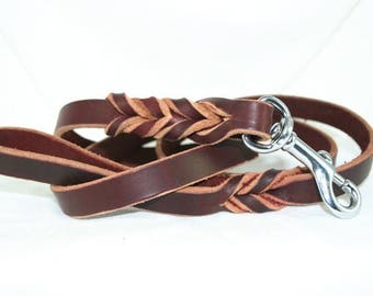Latigo Leather Leash - 4 foot model