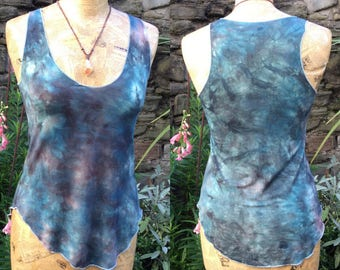 Hand Dyed Pixie Tank Top