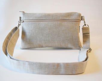 Cross Body Bag - Cross Body Purse - Summer Handbag - Summer Bag - Fabric Handbag - Travel Purse - Gift for Her -  Ready to Ship
