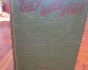 They Walk Again Ghost Stories Chosen By Colin De La Mare 1931 HB First Edition