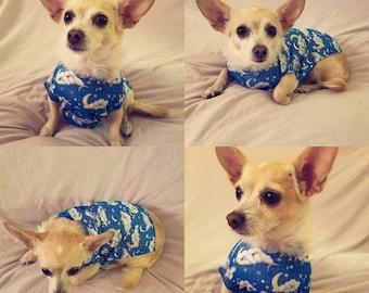 Sweet Dreams/Starry Skies Small Dog Shirt