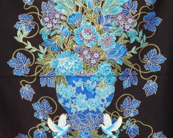 ON SALE SPECIAL--Stunning Marbella Print Pure Cotton Fabric--One Panel