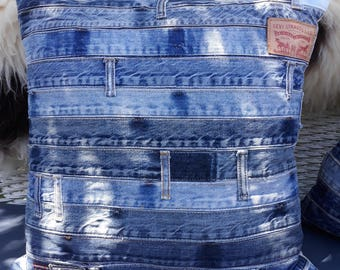 jeans waistbands cushion cover