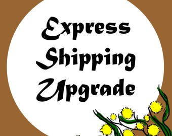 EXPRESS SHIPPING UPGRADE - Australia Only