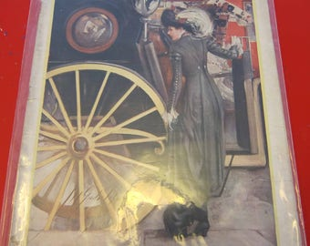 Magazine, Antique, Vintage, Fashions, Ads and Lots More: 1909, The Designer