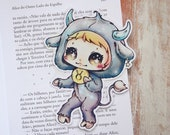 Zodiac bookmark - Taurus