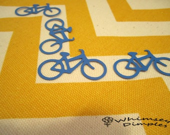 Road Bike Confetti, Bicycle Confetti, Die Cut Table Sprinkles, Scrapbook Card Making Party Decor, Color Options