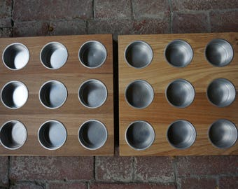 DESTASH ------Sectioned wooden  trays from Ikea