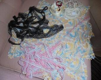 Spring Color Lace Doily Kit