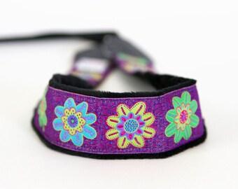 Camera Strap - Photographer Gift - DSLR Camera Strap - Nikon Strap - Canon Strap - Camera Accessories -Enchanting Purple - READY to SHIP