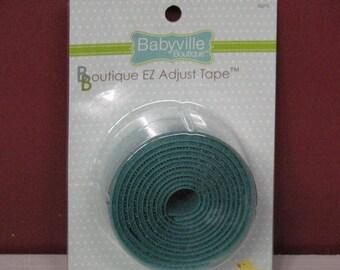 Babyville Boutique EZ AdjustableTape Turquoise