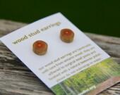 buckthorn - little stud earrings