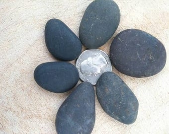 Flat rocks to paint, Blank rocks ready to paint, Painted rocks for DYI crafts, Make your own rock jewelry