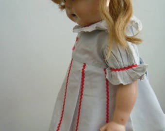 "Ana McGuffey 15"" Doll Dress Scarf Outfit"