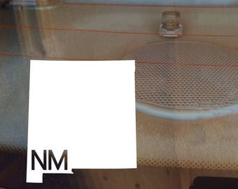 New Mexico Car Decal, State Decal, New Mexico Decal, Laptop Decal, Laptop Sticker, Car Sticker, Car Decal, Vinyl Decal, NM, Window Decal