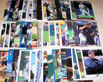 50 Assorted Vintage Colorado Rockies Cards