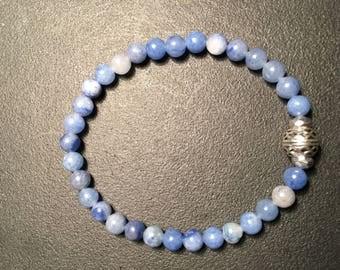 Men's Blue Aventurine Bracelet