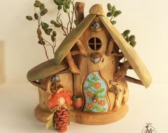 Willodel Scarlet Pimpernel Cottage and Healing Gnome