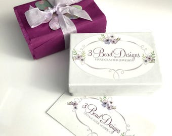 Optional Gift Box for keychains and charm necklaces, Add On
