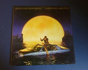 Jackson Browne Lawyers In Love Vinyl Record LP ST-EA-60268 Electra/Asylum Records  1983