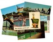 20 Vintage Swimming Pools - Vintage Hotels and Motels Unused Blank Postcards, Unique Wedding Guestbook, Travel Journal