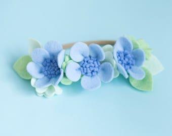 Daisy Flower Headband, Flower Crown, Felt Flower Crown, Baby Flower Crown, Daisy baby headband, baby headband, felt flower headband