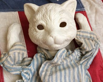 Maybe You Need A Vintage Ceramic Cat Head I Sure Don't
