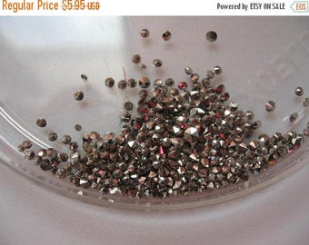 SPECIAL Vintage Round Marcasites 1.1mm flat backs Qty - 4