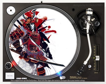 Samurai Warrior - DJ slipmat