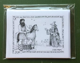 Beorn's Hospitality notecard set