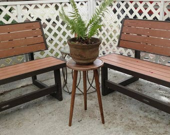 Mid-Century Style Plant Stand - IN STOCK