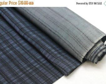 SALE Vintage Japanese Silk. Artisan Made Hand Dyed Fabric. Kimono Araihari Silk (Ref: 1547C)