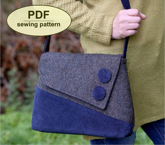 New: Sewing pattern to make the Sedgeford Bag - PDF pattern INSTANT DOWNLOAD