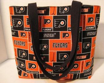 Philadelphia Flyers Hockey Team Medium Size Tote