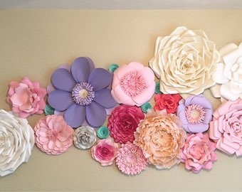 Giant Paper Flowers - Perfectly Imperfect - Destash - Sale