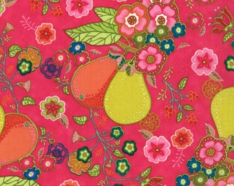 11451-14 Persian Rose, Trade Winds by Lily Ashbury for Moda
