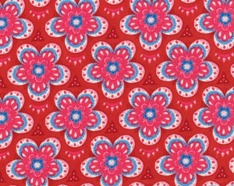 11456-16 Moroccan Red, Trade Winds by Lily Ashbury for Moda