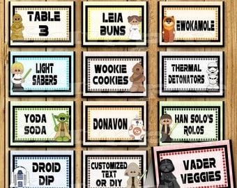 Star Wars Food Table Etsy