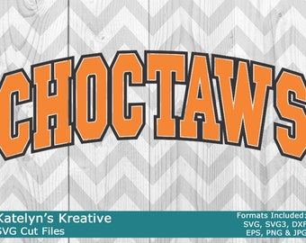 Choctaws Arched SVG Files