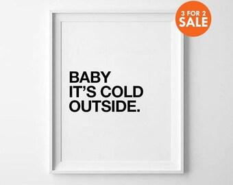 Nursery Decor, wall art, kids room decor, poster, black and white, scandinavian poster, nursery prints